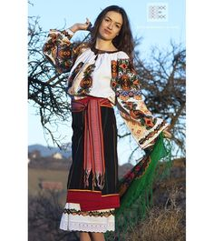 IA the Romanian Blouse. Here you can buy Romanian peasant blouses ie and folk costumes traditional clothes. Worldwide shipping for embroidered Romanian blouse Folk Embroidery, Learn Embroidery, Embroidery Designs, Floral Embroidery, Romanian Women, Costumes For Sale, Folk Costume, Peasant Blouse, Blouse Online