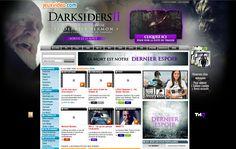 Un nouvel habillage vidéo pour Darksiders II (THQ) sur www.jeuxvideo.com, www.gamekult.com, www.jeuxactu.com et www.jeuxvideo.fr !!!