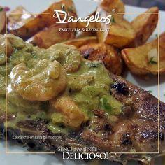 Quieres disfrutar un menú #SencillamenteDelicioso? Ven a D'angelos en Orinokia Mall Zona #Gourmet y CCC Alta Vista II entrando por Puerta Uno - Lebranche en salsa de mariscos  #Gastronomía #gastronomy #almuerzo #cena #pescado #fish #lunch #dinner #Guayana #PZO