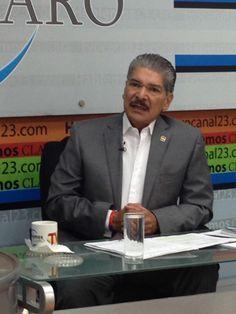 Norman Quijano participando en la entrevista Hablemos Claro de TVO. Muchas gracias por la invitación.
