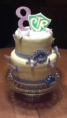 8th Birthday/Baptism Cake