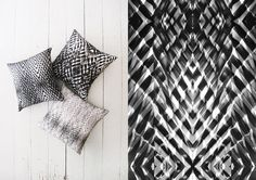 Shirly Rov is a Tel Aviv based textile designer who has recently released a series of pillows inspired by origami. The folds and creases create a very convincing optical illusion of three dimensions when in fact these are flat digital prints.