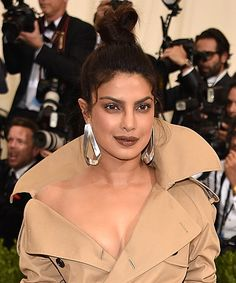 The Best Beauty Moments from the 2017 Met Gala - Priyanka Chopra from InStyle.com