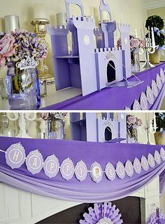 Tantas estafadores Sofía la Primera Fiesta Princesa Inspirado las ideas muy lindo un Través De Ideas de la fiesta de Kara | pastel, decoracion, magdalenas ...