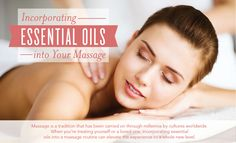 How To, Essential Oils Massage for All Massage has been used for millennia as part of Chinese, Egyptian, Greek, Roman, Japanese, and Indian traditions. Not only can massage help support circulation, increase energy flow in the body, and promote well-being, but it is also one of life's simple luxuries. No matter if you are getting a massage to help you relax physically, to take a mental retreat, or both, incorporating essential oils can help you enhance any massage experience.