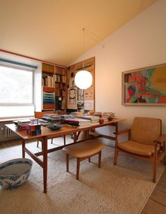 A look at Finn Juhl's personal residence in Ordrup, Denmark, now a museum. The house where Finn Juhl lived and worked, lo...