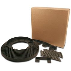EasyFlex Black Plastic Landscape Edging Roll at Lowe's. EasyFlex no-dig landscape edging is a durable and decorative landscaping solution to beautifully finish any gardening project. Designed for quick and easy