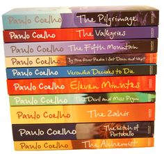 stack of paulo coehlo books - Google Search