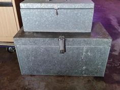 Galvanized tool boxes is listed For Sale on Austree - Free Classifieds Ads from all around Australia - http://www.austree.com.au/home-garden/tools-diy/tool-storage-benches/galvanized-tool-boxes_i3880