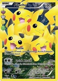 Pikachu (Full Art), Magic, Generations: Radiant Collection
