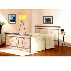 cf05d7b9ef82 Heartlands Alice Metal Bed Frame from £109.99 with FREE delivery! Cheap  Metal Bed Frames
