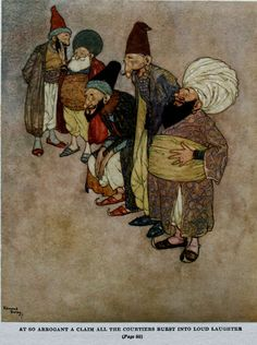 The Magic Horse - Stories from The Arabian Nights as retold by Lawrence Housman, 1907