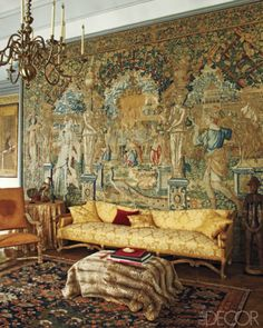 seventeenth century decor/images | LookBook - Search Photos by Room Type and Design Style at ELLE Decor