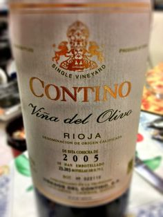 El Alma del Vino.: Viñedos del Contino Viña del Olivo 2005.