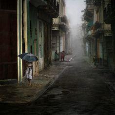 """""""Cuba"""" de Vicente Cervera. 1er Premio en la III Edición del Concurso Canson Infinity / Categoría Color"""