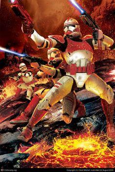 Clone Trooper Unleashed.