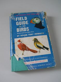 Vintage Peterson Bird Book  Field Guide to by NaturalistsCupboard