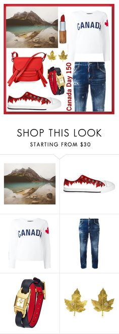 """True North Strong and Free"" by looking-for-a-place-to-happen ❤ liked on Polyvore featuring Dsquared2, Tory Burch, Tiffany & Co. and BCBGMAXAZRIA"