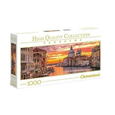 Clementoni Panorama - The Grand Canal - Venice Puzzles, Grand Canal Venice, Mario, Brooklyn, Panorama, High, Dimensions, Products, Impressionism