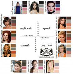 Переходные цветотипы Color Type, Black Hair Cuts, Types Of Colours, Deep Autumn, Fashion Vocabulary, Color Me Beautiful, Color Harmony, Makeup Techniques, Soft Summer
