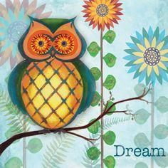 RB3548 <br> Dreamin' Owl I <br> 12x12