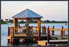 Pond Gazebo and dock