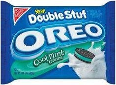 Oreo Double Stuff Cool Mint