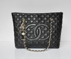 dcfd2c4915b Chanel Bag Outlet Store · Chanel 42053 Cambon Leather Shoulder Bags black  Replica Chanel bag cheap chanel bag designer bag fake