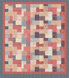 Double Sliced Layer Cake Quilt Tutorial
