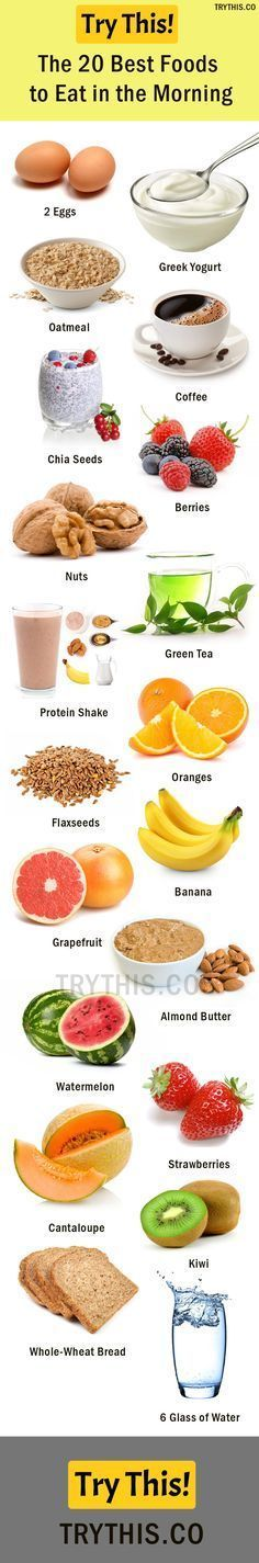 The 20 Best Foods to Eat in the Morning