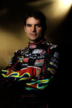Jeff Gordon.  Don't like him as a racer. But I do love he helps save kids!
