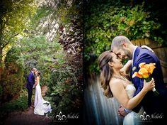 beautiful backyard wedding pictures in Denver