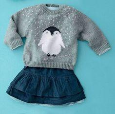 Детская распашонка или пуловер спицами