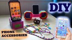 5 DIY Perler Bead Phone Accessories