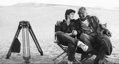 "favoriteactorrutgerhauer: "" on the set of ""The Hitcher"" with C. Ralph Macchio The Outsiders, The Hitcher, Rutger Hauer, My Well Being, Tommy Boy, Gary Oldman, Film Stills, Dream Guy, Movies Showing"