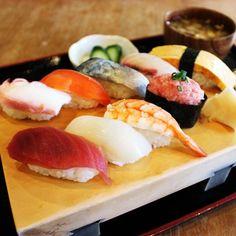 この寿司、うめえ!と思わずうなる、うめえ処。 Ethnic Recipes, Food, Eten, Meals, Diet