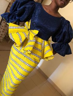 African Fashion Ankara, Latest African Fashion Dresses, African Dresses For Women, African Print Fashion, Africa Fashion, African Attire, African Blouses, African Traditional Dresses, Just In Case