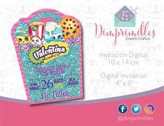 Shopkins invitation shopkins invitations shopkins by Dimprimibles