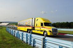 Penske Racing, Freightliner, NASCAR, Pennzoil, Transporter, Hauler