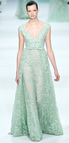 Elie Saab Spring 2013 Couture, Bettie Franke.