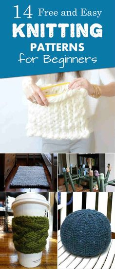 Pretty Image of Diy Knitting Projects Diy Knitting Projects 14 Free And Easy Knitting Patterns For Beginners Crochet Or Knit Beginner Knitting Patterns, Easy Knitting Projects, Knitting Stitches, Knitting Socks, Free Knitting, Knitting Ideas, Crochet Socks, Craft Projects, Easy Projects