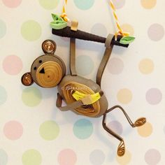 Quilly Nilly: Sweet Monkey Ornaments