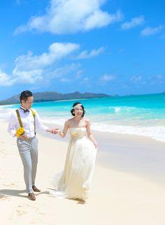 BEACH PHOTO_TREAT HAWAII WEDDING