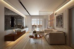 Pametni stan jednostavnog modernog dizajna | Uređenje doma