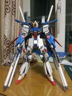 "This gundam paper model is a ZZ Gundam (aka ΖΖ Gundam, ZZ, pronounced ""Double Zeta""), the titular Mobile Suit in the anime series Mobile S Gundam Papercraft, Free Paper Models, Paper Art, Paper Crafts, Custom Gundam, Etsy, Robots, Designers, Journey"