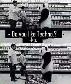 "317 Likes, 2 Comments - Pret A Danser (@pretadanser) on Instagram: ""Don't upset the Panda ❤️ #electronic #music #dance #techno #technomusic #tech #house #housemusic…"""