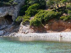 Beach Spilia Agathonissi Dodecanese