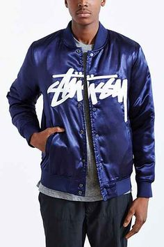 2fe2f5df5e 11 Best satin jackets images in 2018 | Satin jackets, Jackets, Stussy