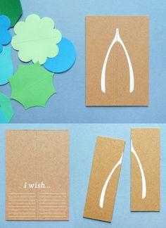 Wishbone card. @Heidi Rodriguez