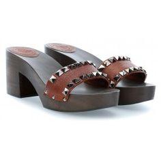 wardow.com - #Campomaggi #shoe #sandal #clogs Clog Schuhe cognac